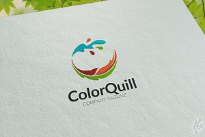 Color Quill - Logo Template