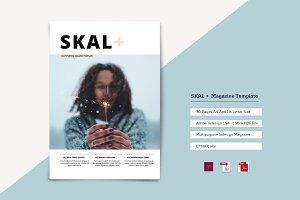 SKAL + Magazine Template
