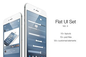 iOS Flat UI Set Vol. 3