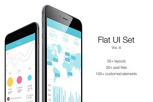 iOS Flat UI Set Vol. 6