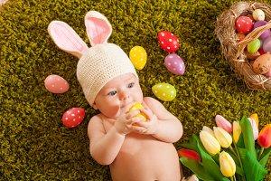 Baby Easter bunny