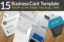 15 Business Card Templates