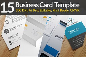15 Business Card Templates