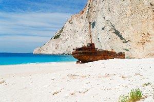 Shipwreak beach