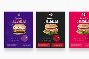 Burger Flyer Bundle
