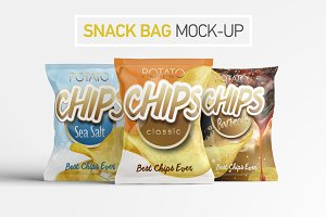 Snack Bag Mock-Up