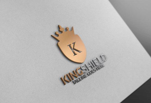 King Shield Logo