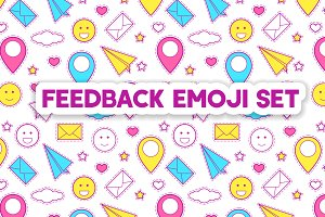 Feedback emoji set