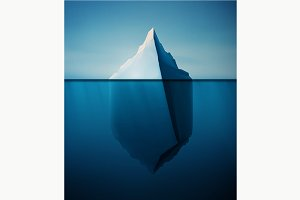 Lonely Iceberg