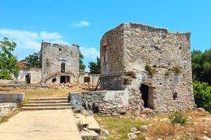 Monastery ruins, Albania.