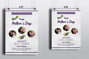 Mother's Day Flyer Template-V544
