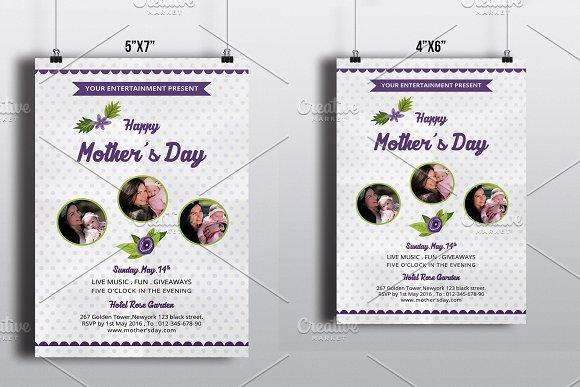 Mothers Day Flyer TemplateV544 Flyer Templates on Creative Market – Mayhem Flyer Template