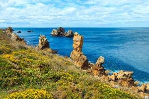 Summer Atlantic coast, Spain