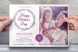 Mother's Day Marketing Board-V545