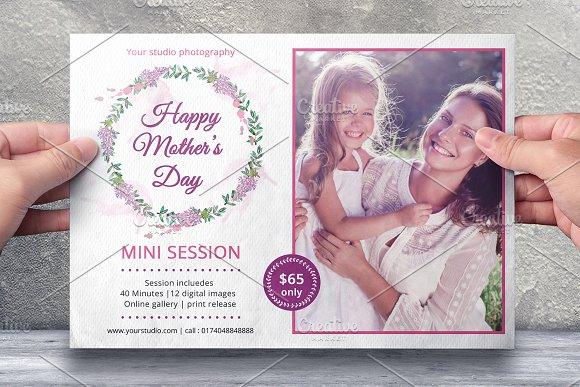 Mother's Day Marketing Board-V545