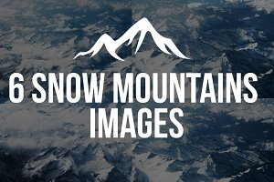 6 Snow mountains