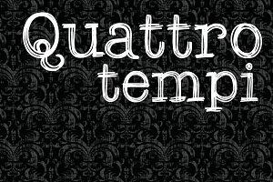 Quattro Tempi Family - 2 Fonts