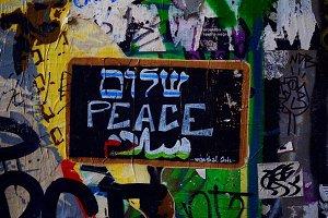 Peace street art
