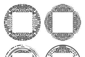 Circular decorative