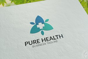 Pure Health - Logo Template