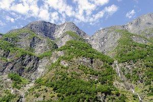 Naerofjord landscape