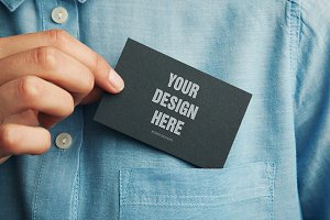 Blank business card 03