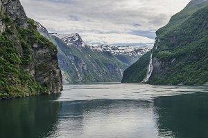 Geiranger fiord in Norway