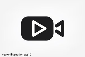 VIDEO BUTTON ICON