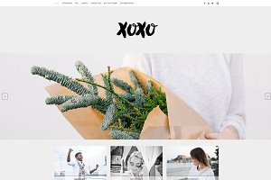 Simple Wordpress Theme - Xoxo