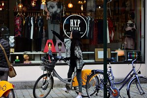 Street fashion, Brussels