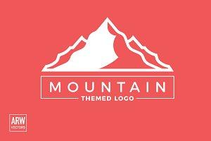 Mountain Themed Logo