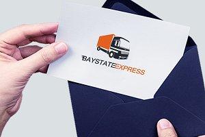 Baystate Express Truck Logo