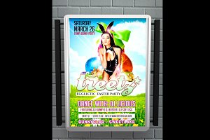Treetz Easter Party Flyer
