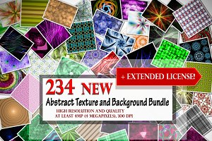 234 NEW Abstract Background Bundle