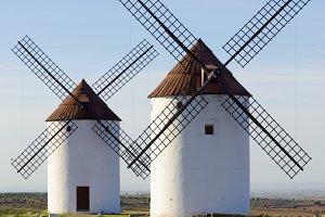 Spain windmills