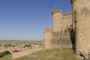 Castle of Belmonte, Cuenca, Spain