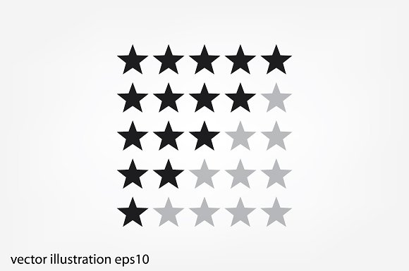 5 Star Rating Icon