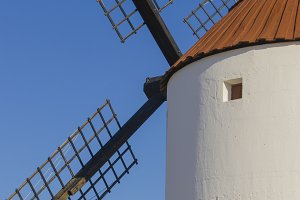 Detail of a windmill
