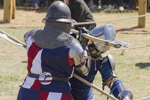 Medieval fighting