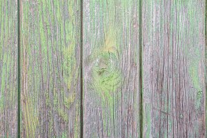 green wood surface background