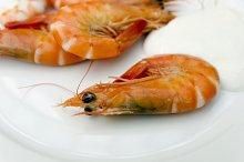 Shrimps mayonnaise