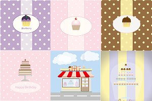 Aeia related backgrounds cakes