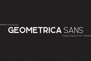 Geometrica Sans - Type Family