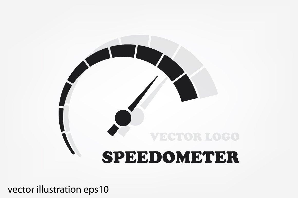 speedometer logo icon icons creative market
