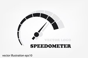 Speedometer logo icon