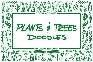 Plants & Trees Doodles