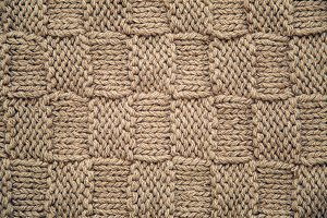 crochet square pattern of brown