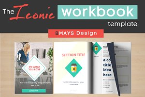 Iconic Workbook and Layout Template