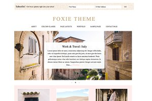 Foxie - A Wordpress Genesis Theme