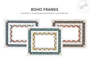 Boho Frames